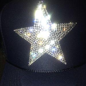 Dallas  Cowboys rhinestone star ⭐️ truckers hat